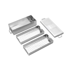 Instrument Box with Two Trays Length 300 MM