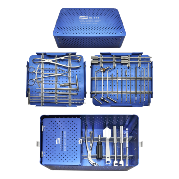 XP.IS.141 - LARGE FRAGMENT LOCKING INSTRUMENT SET FOR 4.5 - 5.0MM SYSTEM